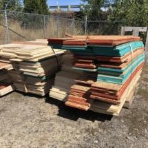 Lot plywood